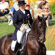 Nancy Maclachlan and Ariston at the 2009 Cornerstone Summer Classic in Palgrave, Ontario.