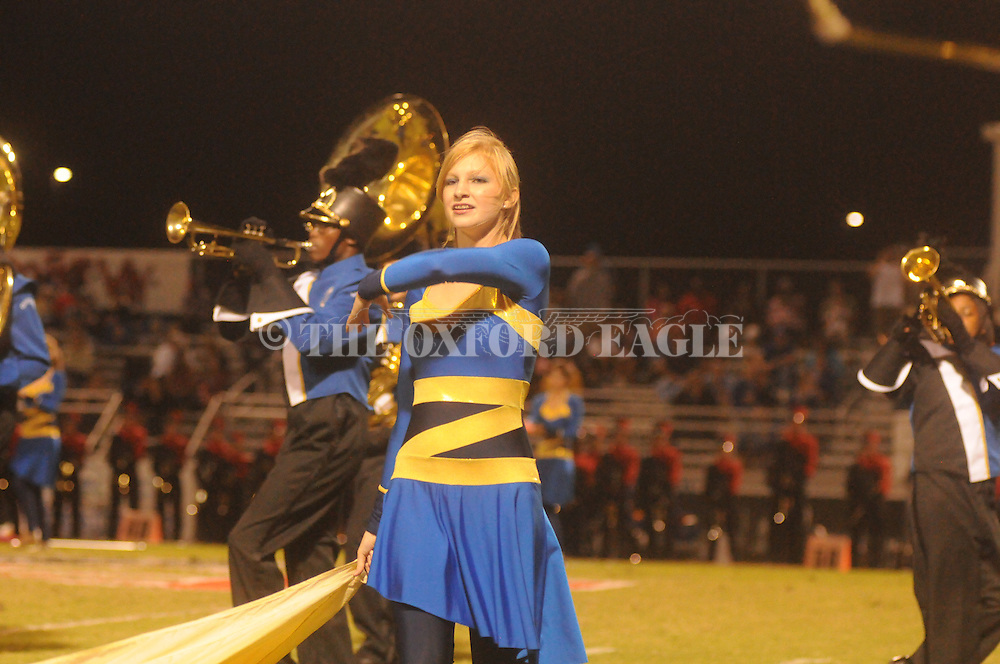 Oxford High band vs. Center Hill in Olive Branch, Miss. on Friday, September 21, 2012. Oxford High won.