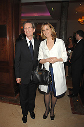 DAVID MONTGOMERY and the HON.MRS MONTGOMERY at a party to celebrate the 180th Anniversary of The Spectator magazine, held at the Hyatt Regency London - The Churchill, 30 Portman Square, London on 7th May 2008.<br />