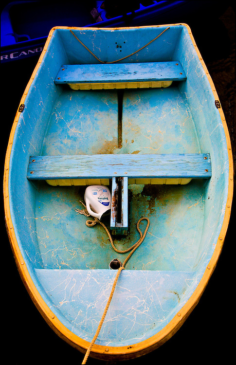 Blue Dingy