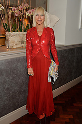 VIRGINIA BATES at a dinner to celebrate 20 years of Maria Grachvogel's fashion label held at Salmontini, 1 Pont Street, London on 22nd October 2014.