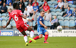 Ricky Miller of Peterborough United shoots at goal - Mandatory by-line: Joe Dent/JMP - 14/10/2017 - FOOTBALL - ABAX Stadium - Peterborough, England - Peterborough United v Gillingham - Sky Bet League One