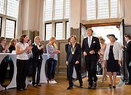 27-5-2014 - MUNSTER - Zentrum fur  Niederlande-Studien<br /> Koning Willem Alexander  en Koningin Maxima brengen een tweedaags werkbezoek aan Nedersaksen en Noordrijn-Westfalen op maandag 26 en dinsdag 27 mei  2014. <br /> COPYRIGHT ROBIN UTRECHT