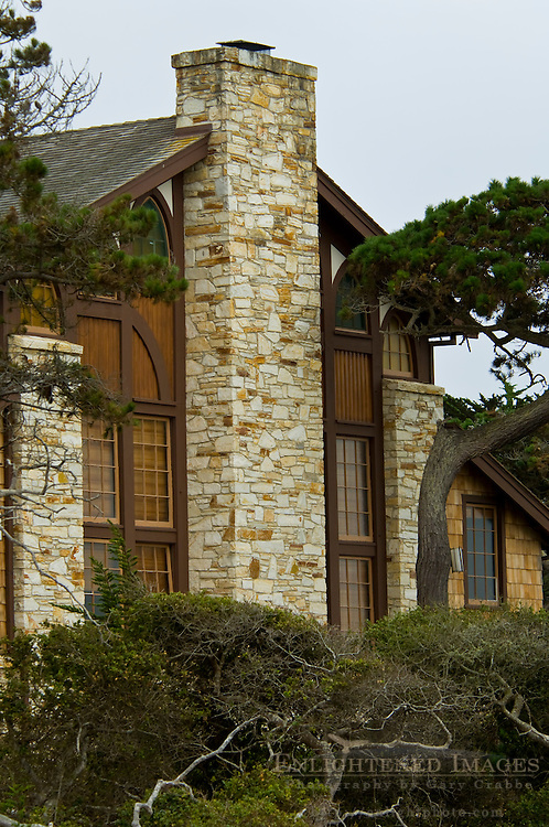Buildings at the Asilomar Conference Center, Pacific Grove, Monterey Peninsula, California