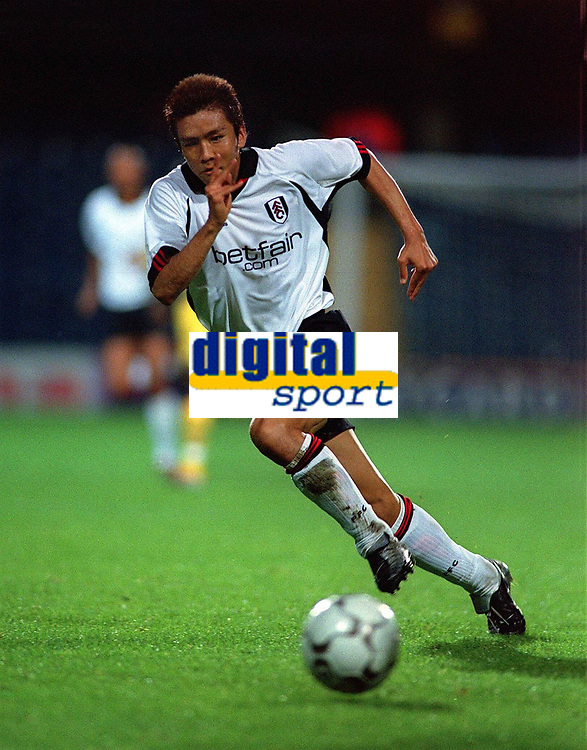 Fotball. Intertoto Cup. Semifinale. 31.07.2002.<br />