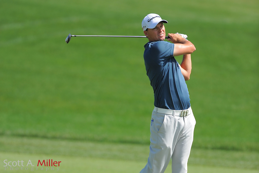John Mallinger during the first round of the Arnold Plamer Invitational at the Bay Hill Club and Lodge on March 22, 2012 in Orlando, Fla. ..©2012 Scott A. Miller.