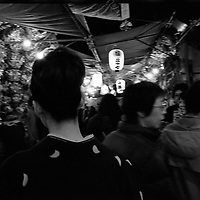 festival in kabukicho , red district of pleasure in Tokyo,days of the rooster, is the days for traders,traders buy lucky charms and they are blessed for lucky next year.