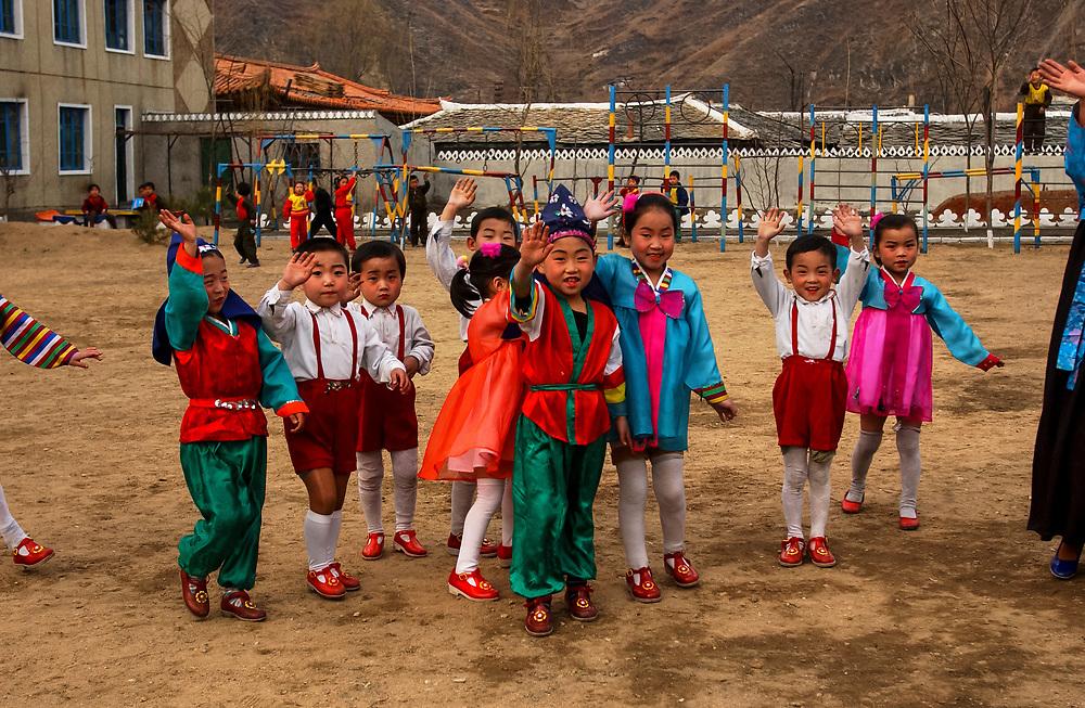 North Korea:<br /> North Hwanghae Province<br /> <br /> Kindergarten at Yonsan<br /> <br /> <br /> &copy;Jeremy Horner<br /> 15 Mar 2004