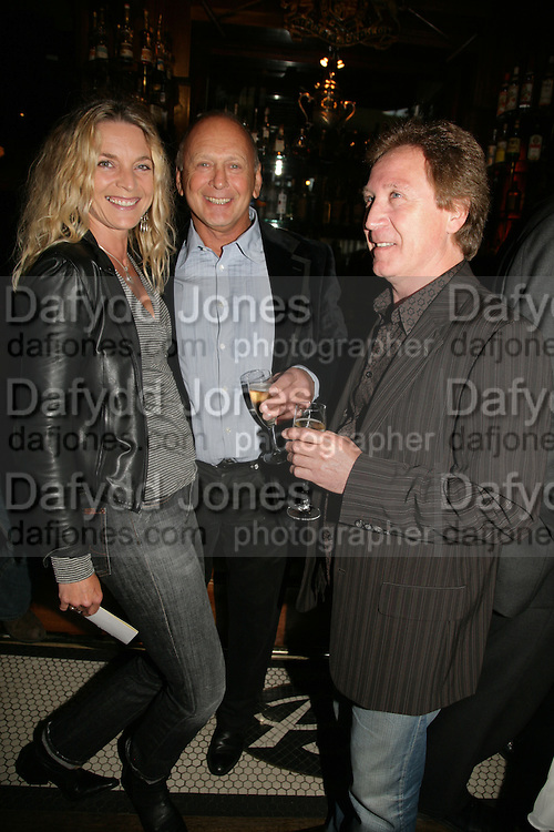 Kira Franck, Brian Stein and Kenny Jones, PJ's Annual Polo Party . Annual Pre-Polo party that celebrates the start of the 2007 Polo season.  PJ's Bar &amp; Grill, 52 Fulham Road, London, SW3. 14 May 2007. <br /> -DO NOT ARCHIVE-&copy; Copyright Photograph by Dafydd Jones. 248 Clapham Rd. London SW9 0PZ. Tel 0207 820 0771. www.dafjones.com.