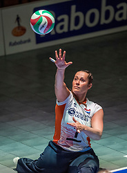 16-07-2018 NED: World Championship sitting volleyball women, Arnhem<br /> Netherlands - Rwanda 3-0 / Elvira Stinissen #1 of Netherlands