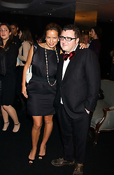 JADE JAGGER and ALBER ELBAZ at a party to celebrate The World of Alber Elbaz for Lanvin at Harvey Nichols, Knightsbridge, London on 1st February 2006.<br /><br />NON EXCLUSIVE - WORLD RIGHTS