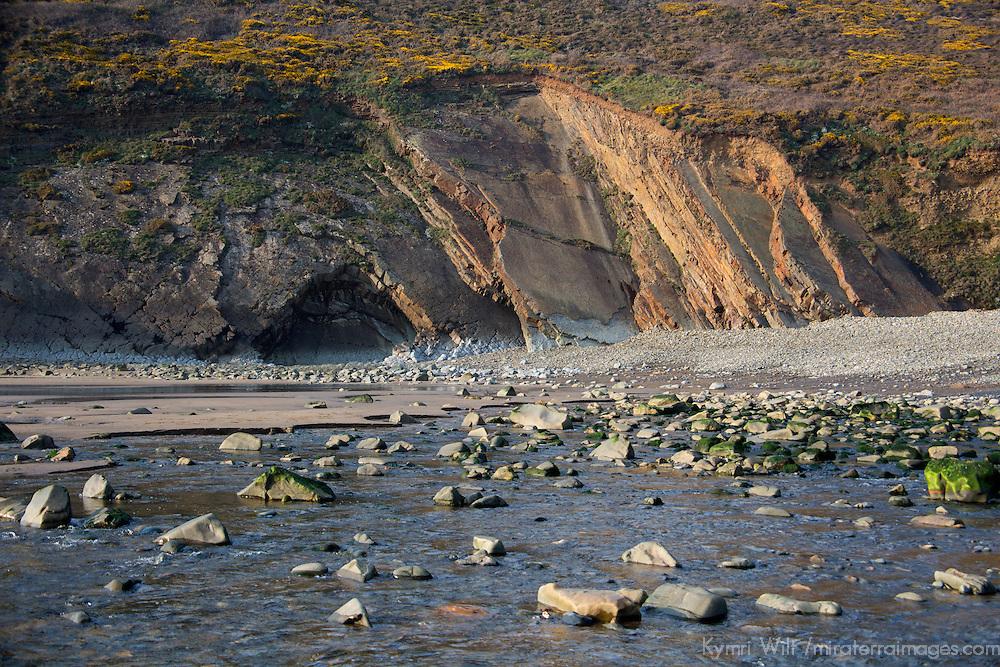Europe, United Kingdom, Wales. Newgale Beach in Pembrokeshire.
