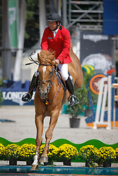 Lejeune Philippe (BEL) - Vigo d'Arsouilles<br /> The Longines Grand Prix Port of Rotterdam<br /> CHIO Rotterdam 2009<br /> Photo © Dirk Caremans