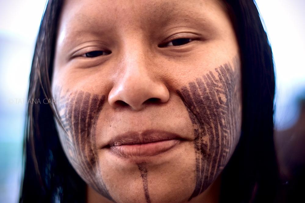 Kayapo woman.