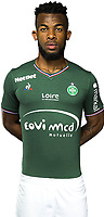 Habib Maiga of Saint Etienne AS Saint Etienne at Stade de l'Aube on October 1, 2017 in Troyes, . (Photo by Icon Sport)