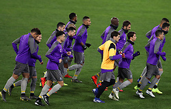 February 11, 2019 - Rome, Italy - FC Porto press conference and training - Champions League.Iker Casillas of Porto trains on the pitch with the teammates at Olimpico Stadium in Rome, Italy on February 11, 2019. (Credit Image: © Matteo Ciambelli/NurPhoto via ZUMA Press)