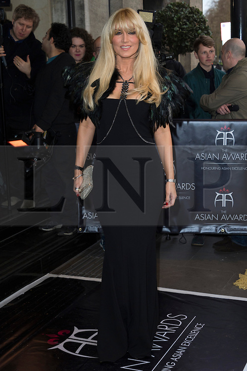 © Licensed to London News Pictures. 08/04/2016. EMMA NOBLE attends The Asian Awards celebrating the best in Asian achievement across business, sport, philanthropy, and popular arts and culture. London, UK. Photo credit: Ray Tang/LNP