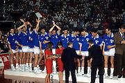 Europei Roma 1991 - Premiazione della nazionale italiana, Medaglia d'Argento