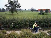 Belgie, Ieper, 4-9-2005..Omgeving van hill 62 uit de eerste wereldoorlog, WO-1, de grote oorlog. the great war,  bij Ieper. Hier is hevig gevochten. Slagveld, landschap. belgium, WW-1, monument. Ypres,..Foto: Flip Franssen/Hollandse Hoogte
