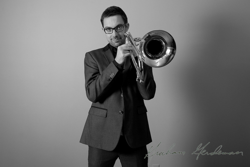Promotional Endorsement Photo for Shilke Trombone artist Oscar Utterstrom