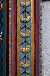 SWITZERLAND ZURICH 3MAR12 - Ornate decoration on a shopfront in Zurich, Switzerland.....jre/Photo by Jiri Rezac....© Jiri Rezac 2012