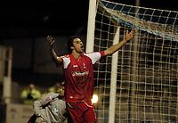 Photo: Leigh Quinnell.<br /> Hartlepool United v Swindon Town. Coca Cola League 1.<br /> 02/01/2006. Rory Fallon celebrates his goal for Swindon.
