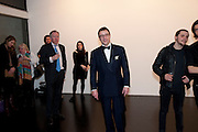 PETER ELLIOT, 'Engagement' exhibition of work by Jennifer Rubell. Stephen Friedman Gallery. London. 7 February 2011. -DO NOT ARCHIVE-© Copyright Photograph by Dafydd Jones. 248 Clapham Rd. London SW9 0PZ. Tel 0207 820 0771. www.dafjones.com.