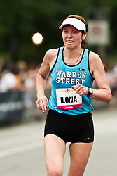 NYRR Mini 10K road race (40th year); Ilona Barvanova