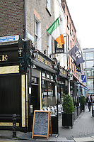 Exterior of the Duke bar in Dublin, Ireland