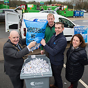17.01.17<br /> A special event is taking place to allow businesses and householders throughout Limerick drop off confidential documents to be shredded free of charge.<br /> <br /> Pictured at the launch of the event at Mungret Recycling Centre were, Mayor of the City and County of Limerick, Cllr Kieran O&rsquo;Hanlon, Terence Ryan, Mungret Recycling Centre, Albert Kelly, Security in Shredding and Sinead McDonnell, Environmental Awareness Officer with Limerick City and County Council.<br /> <br /> <br /> <br /> <br /> <br /> The one-day event is at the Mungret Recycling Centre on Saturday 28 January 2017 from 11.00am until 3.30pm.<br /> Limerick City and County Council in conjunction with Security in Shredding, a company that offers confidential document paper shredding services in Ireland, are facilitating the 'Free Shred Event' to mark European Data Protection Day 2017 and promote good waste management practices. Picture: Alan Place