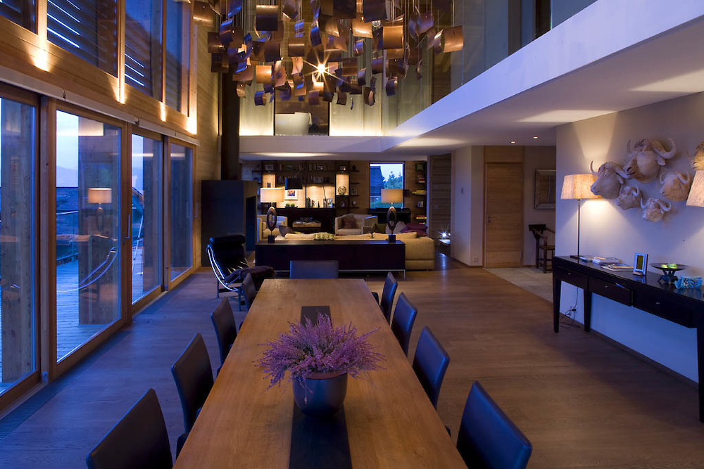 Contemporary Swiss Chalet