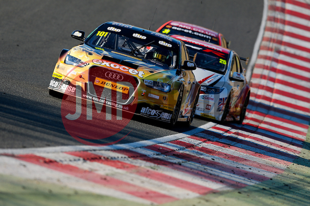 Rob Austin | #101 Exocet AlcoSense Audi A4 | Dunlop MSA BTCC | Race 3 - Photo mandatory by-line: Rogan Thomson/JMP - 07966 386802 - 05/04/2015 - SPORT - MOTORSPORT - Fawkham, England - Brands Hatch Circuit - British Touring Car Championship Meeting Day 2.