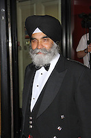 Dilawar Singh MBE, Asian Achievers Awards 2014, Grosvenor House Hotel, London UK, 19 September 2014; Photo By Brett D. Cove