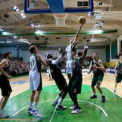 20110111: SLO, Basketball - NLB league, KK Krka vs Union Olimpija