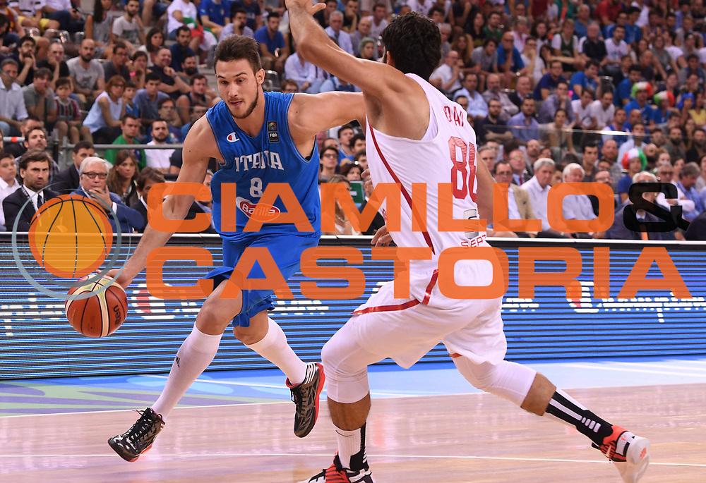 DESCRIZIONE: Torino FIBA Olympic Qualifying Tournament Italia - Tunisia<br /> GIOCATORE: DANILO GALLINARI<br /> CATEGORIA: Nazionale Italiana Italia Maschile Senior<br /> GARA: FIBA Olympic Qualifying Tournament Italia - Tunisia<br /> DATA: 04/07/2016<br /> AUTORE: Agenzia Ciamillo-Castoria
