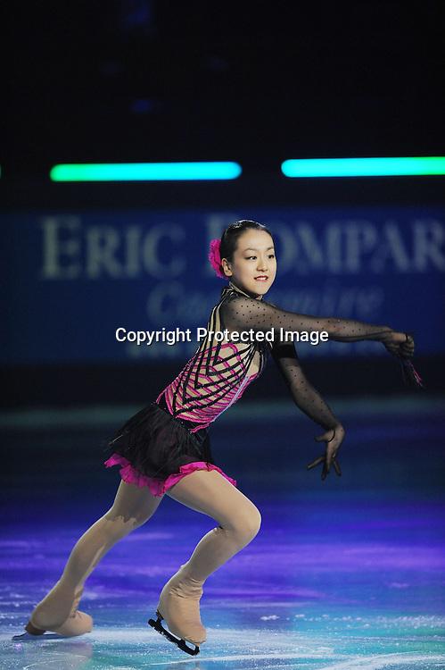 Mao Asada (JPN), OCTOBER 18, 2009 - Figure Skating : during ISU Grand Prix of Figure Skating 2009/2010 Trophee Eric Bompard 2009 Exhibition at Palais Omnisport de Paris Bercy, Paris, France. (Photo by Atsushi Tomura/AFLO SPORT) [1035]