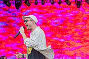 Bastille play the Pyramid Stage - The 2019 Glastonbury Festival, Worthy Farm, Glastonbury.