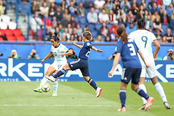 June 10, 2019: Paris, France: Virginia Gomez of Argentina and Yokoyama    Japan game valid for group D of the first phase of the Women's Soccer World Cup in the Parc Des Princes. (Credit Image: © Vanessa Carvalho/ZUMA Wire)