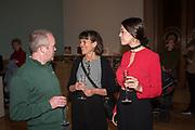 DAVID BLACK, JENNY MOORE,, HANNAH MOSSMAN MOORE,  , London Original Print Fair Preview, Royal Academy,  London. 24 April 2019