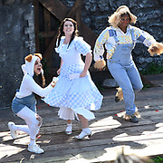 Hundreds attend to watch Summer by the River: The Wonderful Wizard of OZ at The Scoop, London, UK on 1st September 2018.