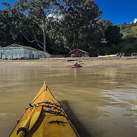Launghing from China Camp Beach