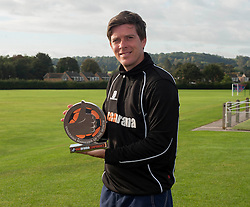 Bristol Rovers' manager, Darrell Clarke wins manager of the month for September  - Photo mandatory by-line: Dougie Allward/JMP - Mobile: 07966 386802 - 03/10/2014 - SPORT - Football - Bristol - Friends Life Sports Ground - Bristol Rovers Training Ground -  v  -  - Vanarama