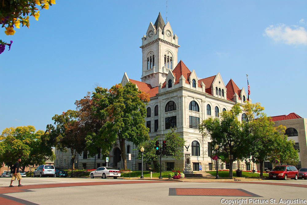 Cole County Court House in Jefferson City, Missouri.