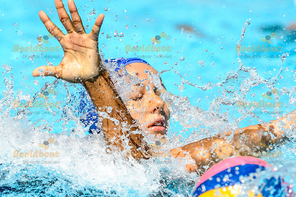 03-08-2015: Waterpolo: Canada v Hongarije: Kazan<br /> <br /> <br /> Waterpolo match between ladies of Canada and Hungary during the 16th FINA World Championships 2015 in Kazan