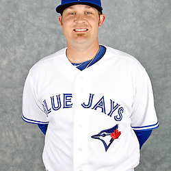 March 2, 2012; Dunedin, FL, USA; Toronto Blue Jays starting pitcher Drew Carpenter (50) poses for a portrait during photo day at Florida Auto Exchange Stadium.  Mandatory Credit: Derick E. Hingle-US PRESSWIRE