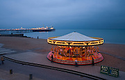 Limited Edition of 17<br /> Brighton England Beach Front Carousel