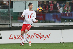 14.11.2016, Stadion Miejski, Wroclaw, POL, Testspiel, Polen vs Slowenien, im Bild BARTOSZ BERESZYNSKI SYLWETKA // during the international friendly football match between Poland vs Slovenia at the Stadion Miejski in Wroclaw, Poland on 2016/11/14. EXPA Pictures &copy; 2016, PhotoCredit: EXPA/ Newspix/ Jakub Piasecki<br /> <br /> *****ATTENTION - for AUT, SLO, CRO, SRB, BIH, MAZ, TUR, SUI, SWE, ITA only*****