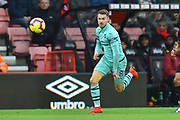 Aaron Ramsey (8) of Arsenal during the Premier League match between Bournemouth and Arsenal at the Vitality Stadium, Bournemouth, England on 25 November 2018.