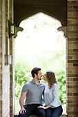 Megan & Tyler's engagement shoot in Galt, Ontario