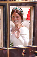 Royal Wedding of Princess Eugenie and Jack Brooksbank at Windsor Castle Berkshire England